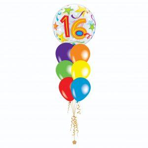 Bubble + Latex Balloon Bouquets