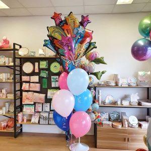 SuperShape + Latex Balloon Bouquets