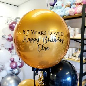 Personalised ORBZ Foil Balloon